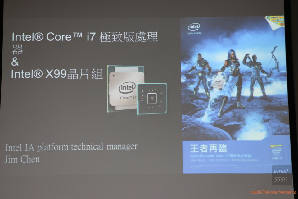 IMG_1798  Intel X99平台效能大解密 & 4K影音應用新世代 IMG 1798