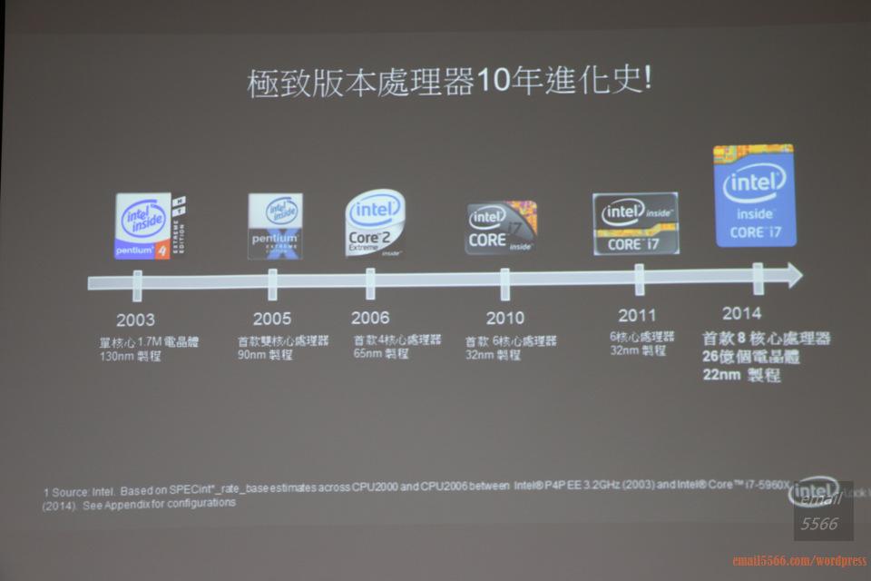IMG_1799  Intel X99平台效能大解密 & 4K影音應用新世代 IMG 1799