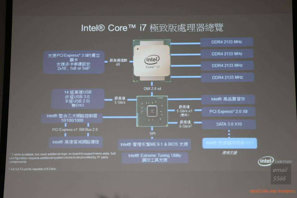 IMG_1804  Intel X99平台效能大解密 & 4K影音應用新世代 IMG 1804