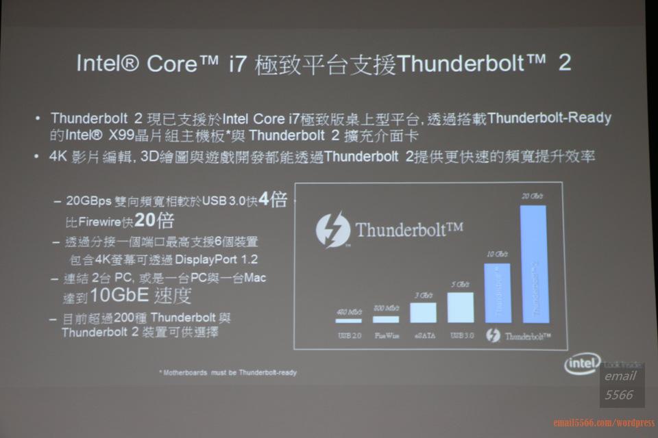 IMG_1817  Intel X99平台效能大解密 & 4K影音應用新世代 IMG 1817