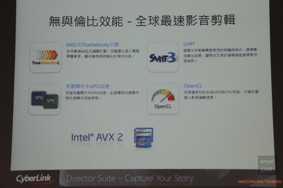IMG_1838  Intel X99平台效能大解密 & 4K影音應用新世代 IMG 1838