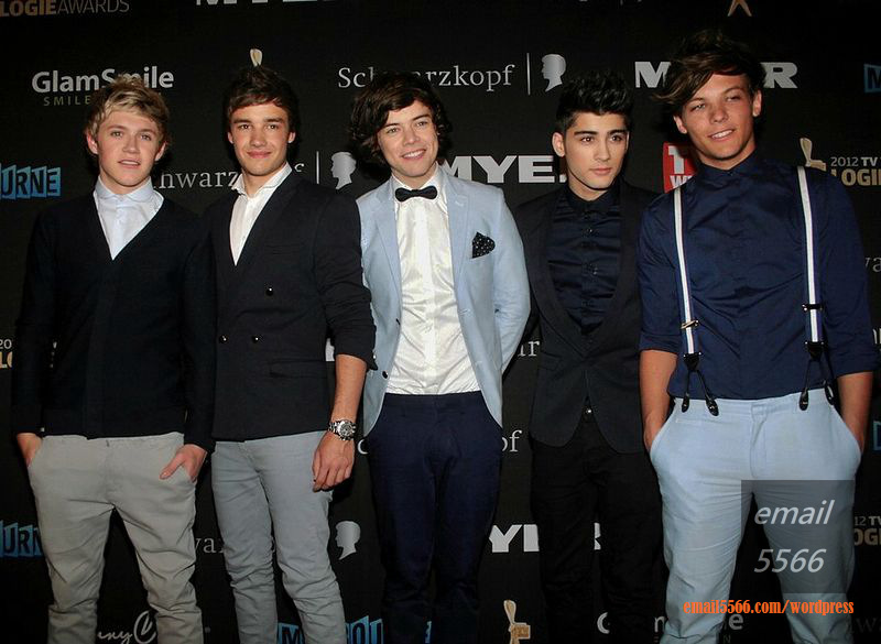 One_Direction_at_the_Logies_Awards_2012  第42屆全美音樂獎-頒獎典禮 20141123HD One Direction at the Logies Awards 2012