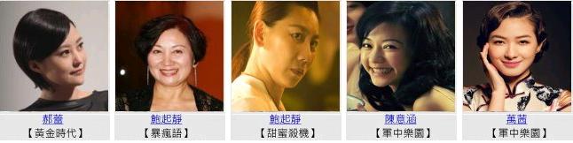 Supporting Actress 第51屆金馬獎-頒獎典禮 20141122HD Supporting Actress