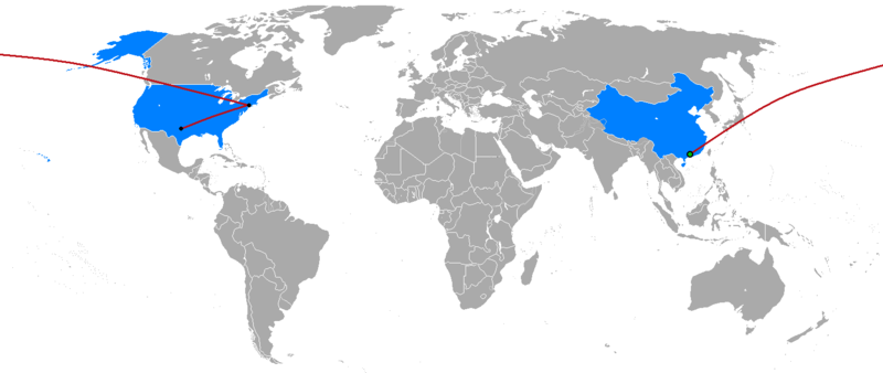The_Amazing_Race_China_2014_map