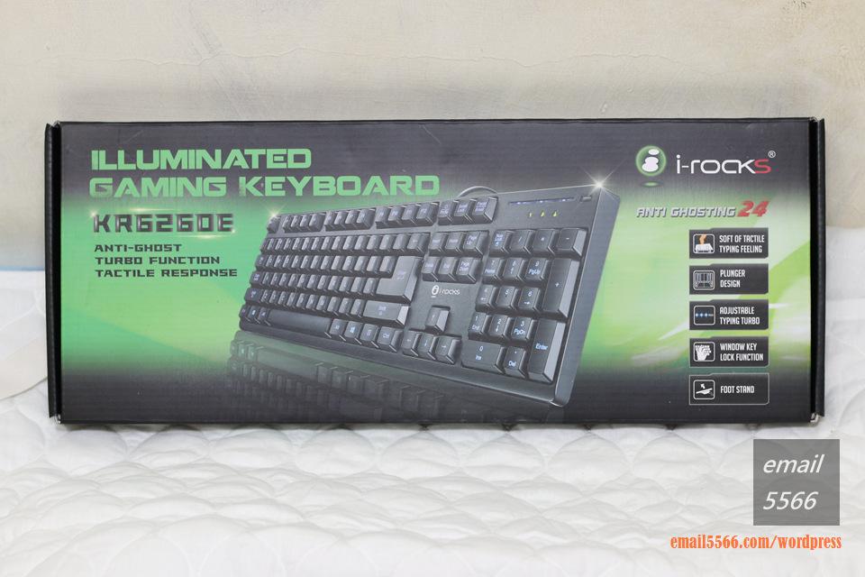 IMG_3605   i-Rocks KR6260E 背光遊戲鍵盤 開箱 IMG 3605