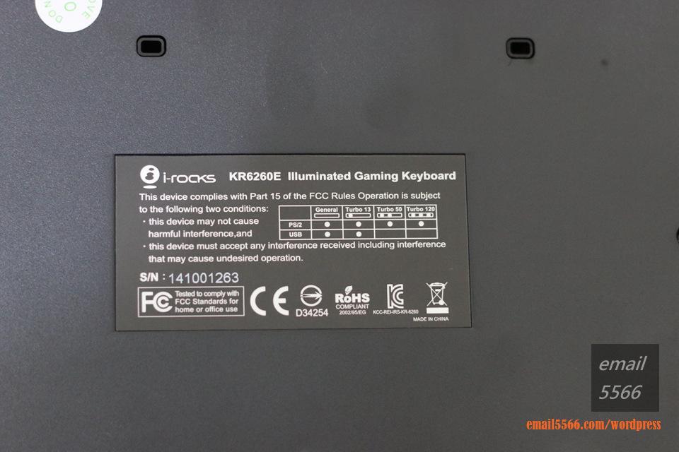 IMG_3636   i-Rocks KR6260E 背光遊戲鍵盤 開箱 IMG 3636