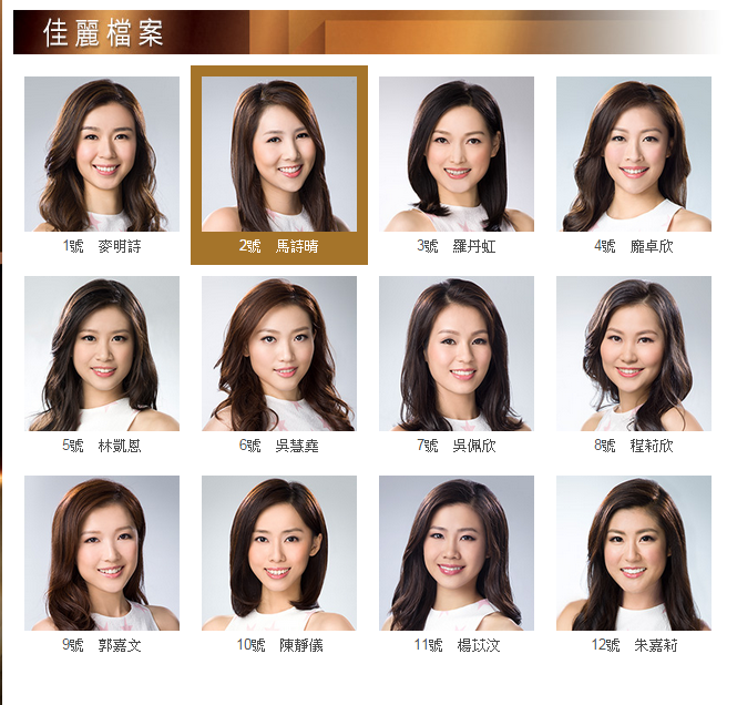 Miss Hong Kong Pageant 2015 [選美] 2015香港小姐競選決賽-20150830 HD [選美] 2015香港小姐競選決賽-20150830 HD Miss Hong Kong Pageant 2015