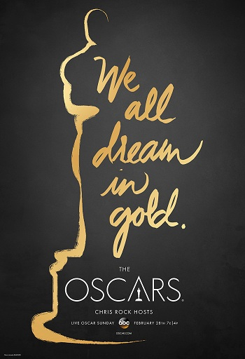 Oscars_poster_2016 第88屆奧斯卡金像獎 頒獎典禮-HD 第88屆奧斯卡金像獎 頒獎典禮-HD Oscars poster 2016