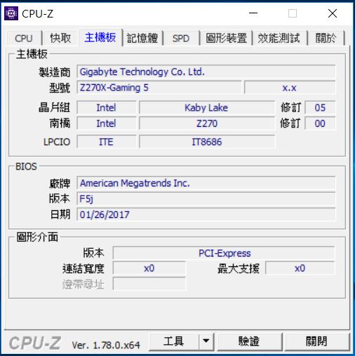 [開箱] 來自技嘉科技gigabyte的頂級電競品牌 GA-Z270X-Gaming 5  AORUS Gaming Series 主機板 [開箱] 來自技嘉科技gigabyte的頂級電競品牌 GA-Z270X-Gaming 5  AORUS Gaming Series 主機板 CPU Z 2