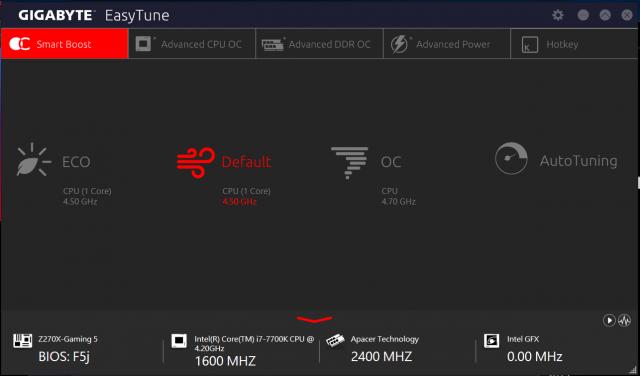 [開箱] 來自技嘉科技gigabyte的頂級電競品牌 GA-Z270X-Gaming 5  AORUS Gaming Series 主機板 [開箱] 來自技嘉科技gigabyte的頂級電競品牌 GA-Z270X-Gaming 5  AORUS Gaming Series 主機板 Easy Tune 1 640x376