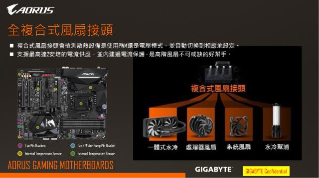 [開箱] 來自技嘉科技gigabyte的頂級電競品牌 GA-Z270X-Gaming 5  AORUS Gaming Series 主機板 [開箱] 來自技嘉科技gigabyte的頂級電競品牌 GA-Z270X-Gaming 5  AORUS Gaming Series 主機板 FAN 2 640x359