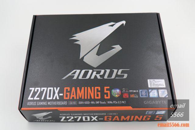 [開箱] 來自技嘉科技gigabyte的頂級電競品牌 GA-Z270X-Gaming 5  AORUS Gaming Series 主機板 [開箱] 來自技嘉科技gigabyte的頂級電競品牌 GA-Z270X-Gaming 5  AORUS Gaming Series 主機板 IMG 5220 640x427