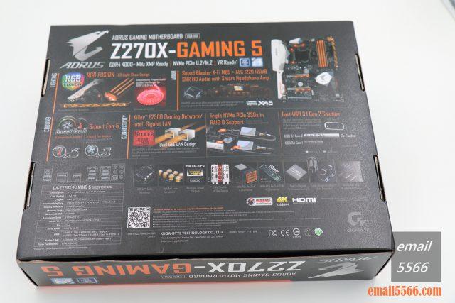 [開箱] 來自技嘉科技gigabyte的頂級電競品牌 GA-Z270X-Gaming 5  AORUS Gaming Series 主機板 [開箱] 來自技嘉科技gigabyte的頂級電競品牌 GA-Z270X-Gaming 5  AORUS Gaming Series 主機板 IMG 5221 640x427