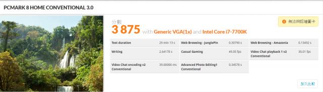 [開箱] 來自技嘉科技gigabyte的頂級電競品牌 GA-Z270X-Gaming 5  AORUS Gaming Series 主機板 [開箱] 來自技嘉科技gigabyte的頂級電競品牌 GA-Z270X-Gaming 5  AORUS Gaming Series 主機板 PCMARK 8 HOME CONVENTIONAL 4