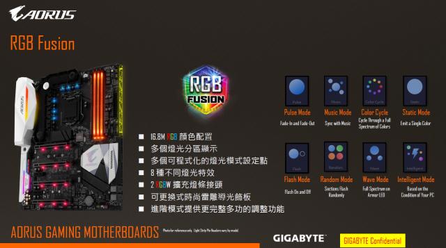 [開箱] 來自技嘉科技gigabyte的頂級電競品牌 GA-Z270X-Gaming 5  AORUS Gaming Series 主機板 [開箱] 來自技嘉科技gigabyte的頂級電競品牌 GA-Z270X-Gaming 5  AORUS Gaming Series 主機板 RGB 1 640x357