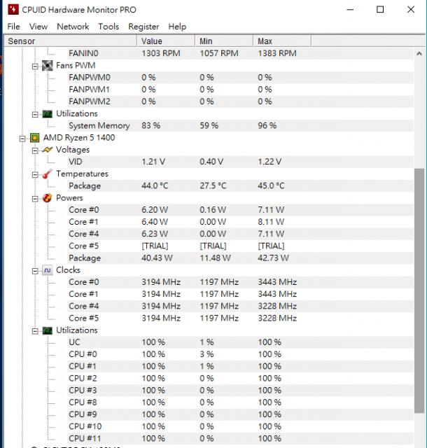 [開箱] 窮人四核八線程 AMD Ryzen 5 1400+ASUS PRIME A320M-K+ASUS RADEON RX550 [開箱] 窮人四核八線程 AMD Ryzen 5 1400+ASUS PRIME A320M-K+ASUS RADEON RX550 CPU TE 610x640