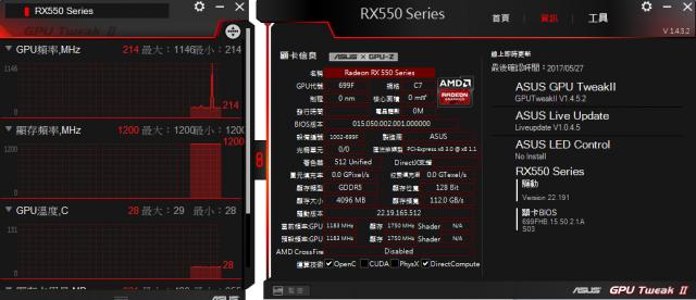 [開箱] 窮人四核八線程 AMD Ryzen 5 1400+ASUS PRIME A320M-K+ASUS RADEON RX550 [開箱] 窮人四核八線程 AMD Ryzen 5 1400+ASUS PRIME A320M-K+ASUS RADEON RX550 R550 2 640x276