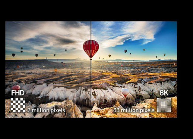 samsung qled 8k Samsung QLED 8K Smart TV 三星量子8K智慧型電視 體驗會 nl feature breathtaking 33 million pixel resolution 115454286 640x462