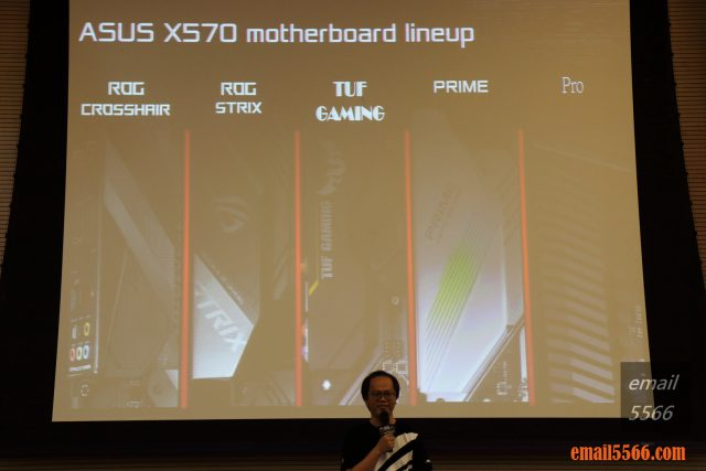 ASUS motherboard product line