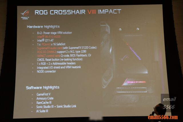 ROG Crosshair VIII Impact x570主機板 2019 XF 台中網聚-電腦夏日祭 IMG 0772 640x427