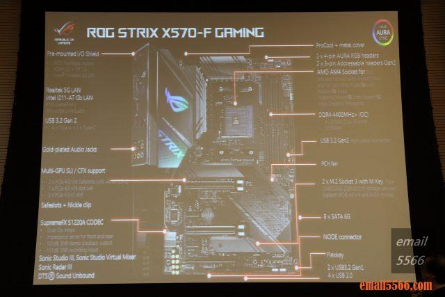 ROG STRIX X570-F x570主機板 2019 XF 台中網聚-電腦夏日祭 IMG 0775 640x427