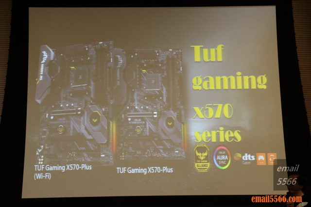 TUF Gaming X570-PLUS x570主機板 2019 XF 台中網聚-電腦夏日祭 IMG 0778 640x427