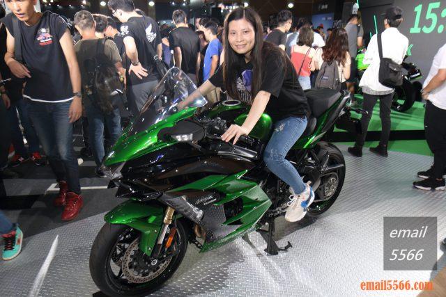 Kawasaki-Ninja H2 SX SE 2019國際重機展 2019國際重機展-YAMAHA x SUZUKI x HONDA x Kawasaki IMG 0922 640x427