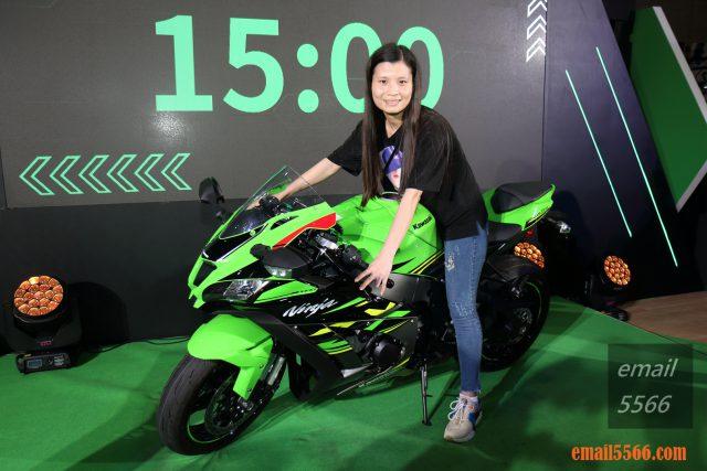 Kawasaki-Ninja ZX-10R 2019國際重機展 2019國際重機展-YAMAHA x SUZUKI x HONDA x Kawasaki IMG 0924 640x427