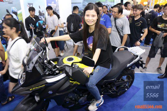 Suzuki V-Strom 650XT 2019國際重機展 2019國際重機展-YAMAHA x SUZUKI x HONDA x Kawasaki IMG 0935 640x427