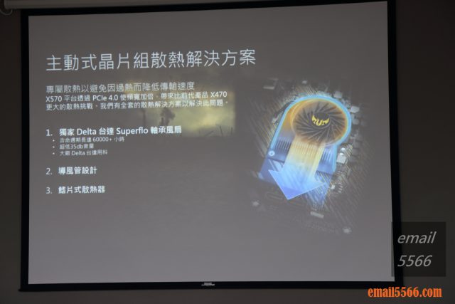 TUF Gaming X570和PRIME X570 主動式散熱