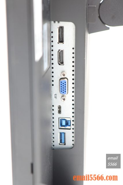 ViewSonic VG2455顯示器-I/O區域 viewsonic vg2455 ViewSonic VG2455 人體工學設計多角度旋轉顯示器 IMG 1657 427x640