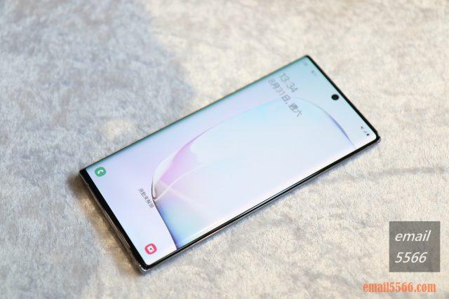 Galaxy Note10 星環銀正面