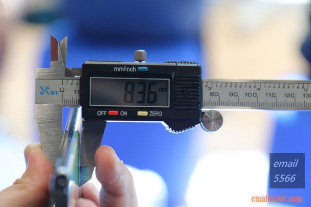Galaxy Note 10 厚度8.3mm