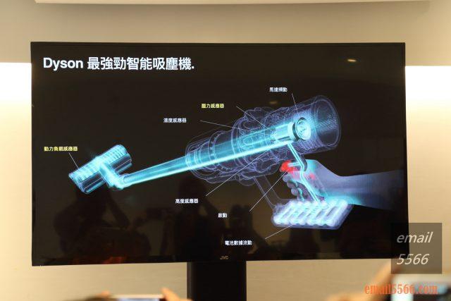 台灣Dyson總代理 感應器功能-恆隆行