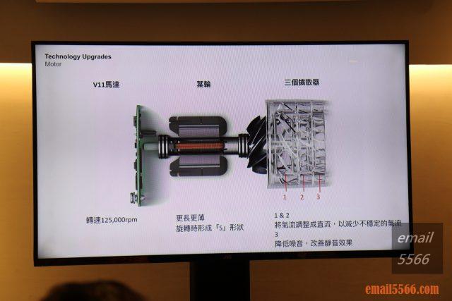 台灣Dyson總代理 Dyson V11 馬達設計-恆隆行