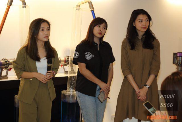 Dyson V11 無線吸塵器-電獺少女 Emma、Mobile01編輯 愛曼達、台灣Dyson總代理-恆隆行