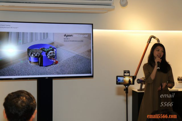 Dyson 360 Heurist 智能吸塵機器人-恆隆行