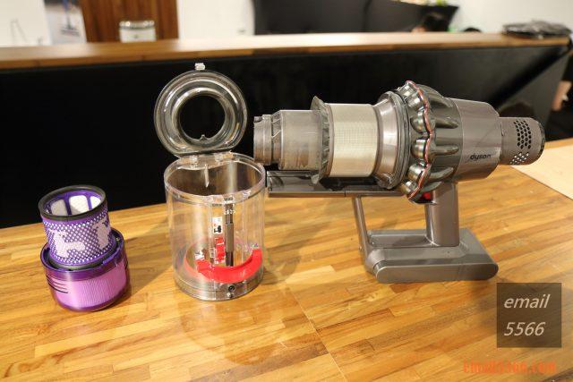 Dyson V11 無線吸塵器主機 大部分解