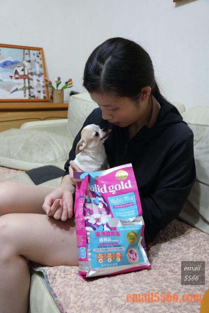 Solidgold速利高 超級犬糧4LB-Elly&小不點