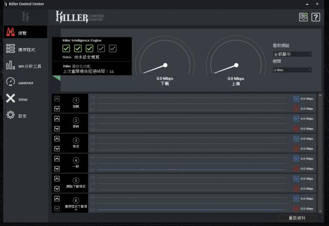 GIGABYTE AERO 15 X9 AI智慧筆電-Killer 網路管理應用程式