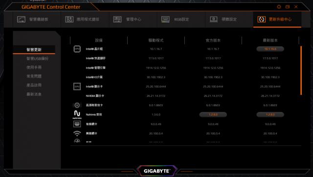 GIGABYTE AERO 15 X9 AI智慧筆電-更新升級中心