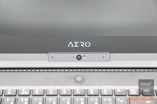 GIGABYTE AERO 15 X9 AI智慧筆電-視訊鏡頭、雙陣列式麥克風、環境光源感應器模組