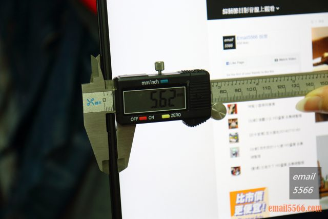 GIGABYTE AERO 15 X9 AI智慧筆電-螢幕窄邊框設計