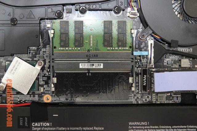 GIGABYTE AERO 15 X9 AI智慧筆電-Samsung DDR4 2666MHz