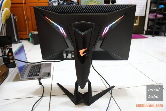 AORUS FI27Q-P 電競螢幕-RGB 燈效