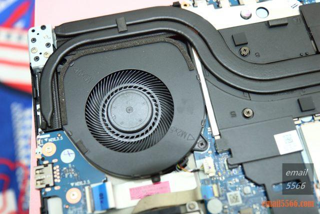 聯想 Legion Y540 電競筆電-GTX 1650+I5H+144Hz 窮人專用機 26888-GPU 散熱區、CPU 散熱區。兩根熱導管引導廢熱至散熱鰭片,並替記憶體與供電模組散熱。 legion y540 聯想 Legion Y540 電競筆電-GTX 1650+I5H+144Hz 窮人專用機 26888 IMG 4300 640x427
