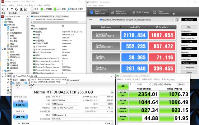 聯想 Legion Y540 電競筆電-GTX 1650+I5H+144Hz 窮人專用機 26888-硬碟讀寫效能測試 legion y540 聯想 Legion Y540 電競筆電-GTX 1650+I5H+144Hz 窮人專用機 26888 Lenovo Legion Y540 Gaming Laptop Hard disk read and write performance test 640x403