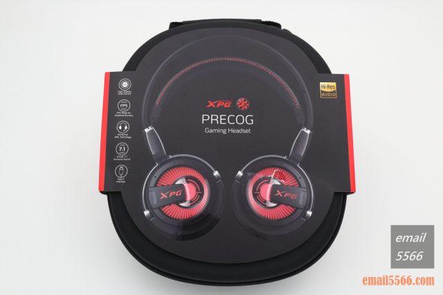 XPG PRECOG 預知者 電競耳機-正面包裝盒外觀 xpg precog XPG PRECOG 預知者 電競耳機 開箱-FPS、虛擬7.1、多種連接埠、Hi-Res Audio IMG 4845 640x427