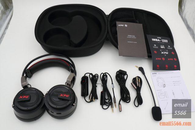 XPG PRECOG 預知者 電競耳機-包裝內容物 xpg precog XPG PRECOG 預知者 電競耳機 開箱-FPS、虛擬7.1、多種連接埠、Hi-Res Audio IMG 4869 640x427