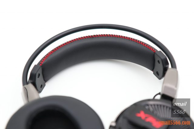 XPG PRECOG 預知者 電競耳機-頭帶內襯則用了軟質海棉與人造皮革包覆 xpg precog XPG PRECOG 預知者 電競耳機 開箱-FPS、虛擬7.1、多種連接埠、Hi-Res Audio IMG 5070 640x427